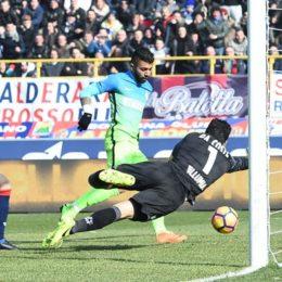 Barbosa prima gioia, l'Inter passa a Bologna