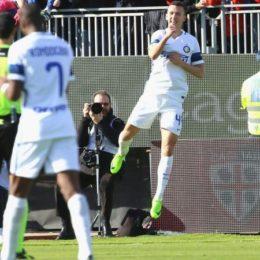 L'Inter cala la goleada a Cagliari
