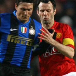 Giggs onora Zanetti, Mazzarri rischia, Ranocchia segna