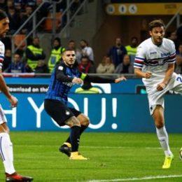 Dominio Inter, poi la Samp sogna di vendicare il 2005, ma finisce ancora 3-2