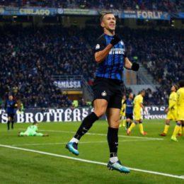 Perisic si porta a casa il pallone e l'Inter fa cinquina al Chievo