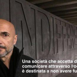 """Spalletti e l'Inter ricordano la Shoah: """"Chi comunica attraverso l'odio non ha futuro"""""""