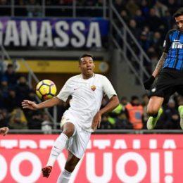 Un'Inter senza gioco agguanta la Roma con il cuore