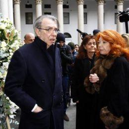 Tanta gente ai funerali di Gian Marco Moratti