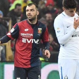 L'Inter naufraga a Genova