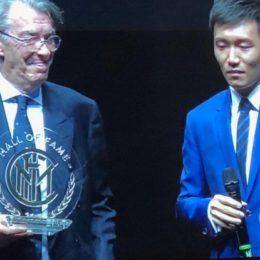 Zenga, Zanetti, Matthaus, Ronaldo e Moratti nella Hall of Fame interista