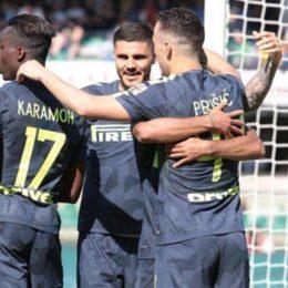L'Inter strappa i tre punti e si mantiene in corsa per la Champions