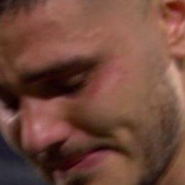 Icardi in lacrime