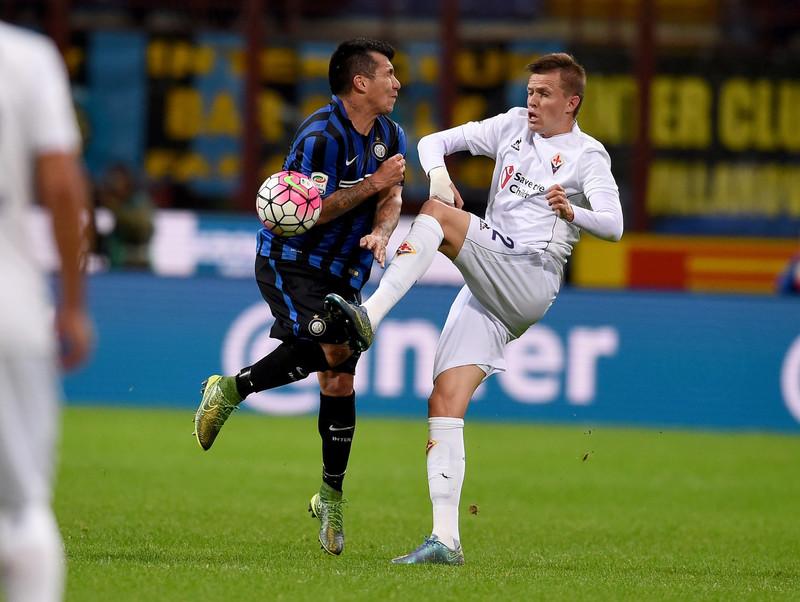 Ilicic quando giocava nella Fiorentina