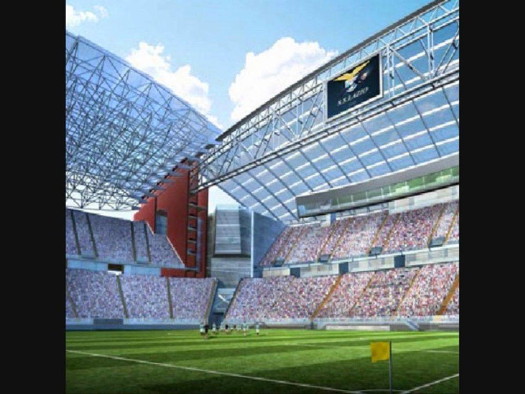 Stadio delle Aquile, disegno