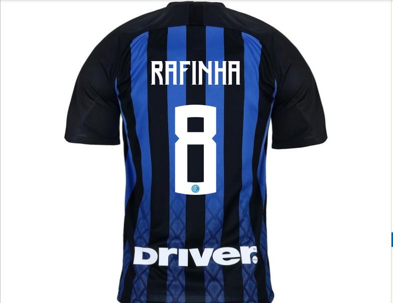 Font di numero e nome maglia Inter 2019