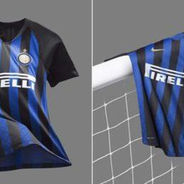 La nuova maglia dell'Inter per il 2019
