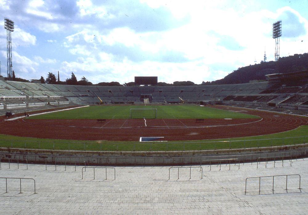 L'olimpico di Roma prima del 1990