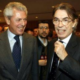 Moratti e Tronchetti vecchie foto