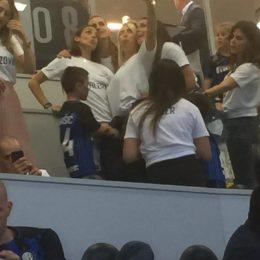 Wanda Nara e le mogli dei giocatori dell'Inter