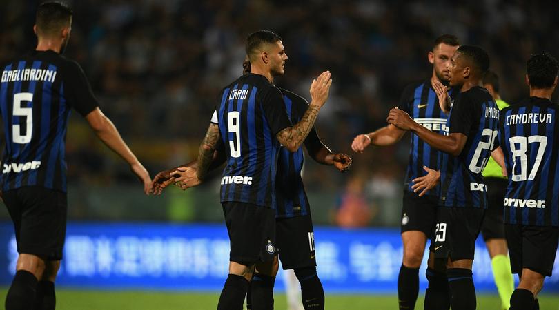 Inter-Zenit agosto 2018