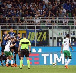 Sassuolo-Inter, la possibile formazione