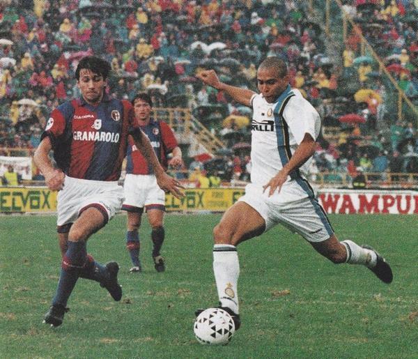 Ronaldo primo gol con l'Inter