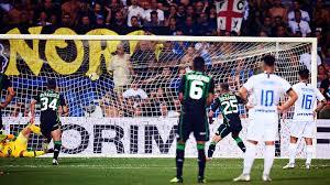 Rigore Berardi contro l'Inter
