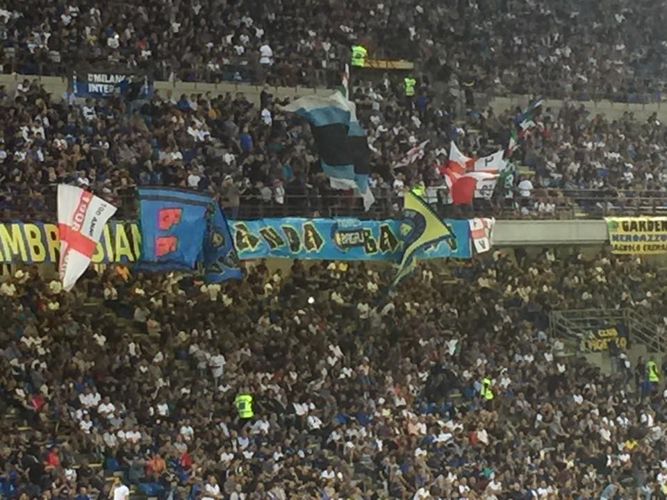 San Siro blu tifosi inter