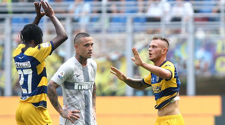 Nainggolan con il Parma