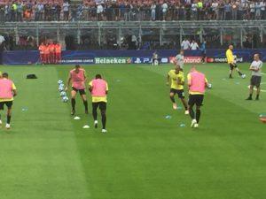 giocatori dell'Inter