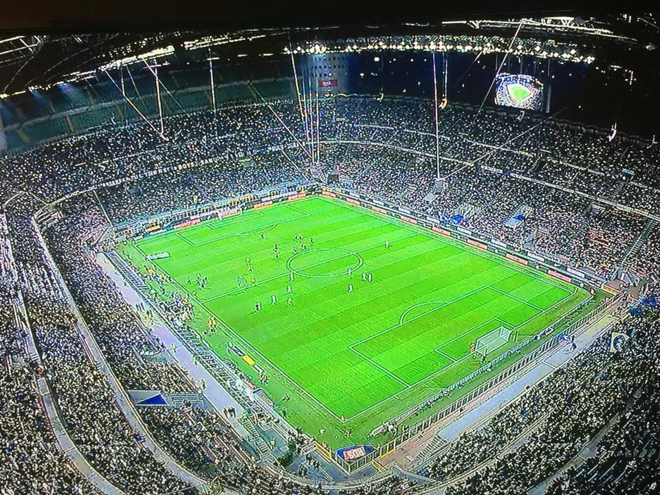 totale stadio san siro quando gioca l'Inter