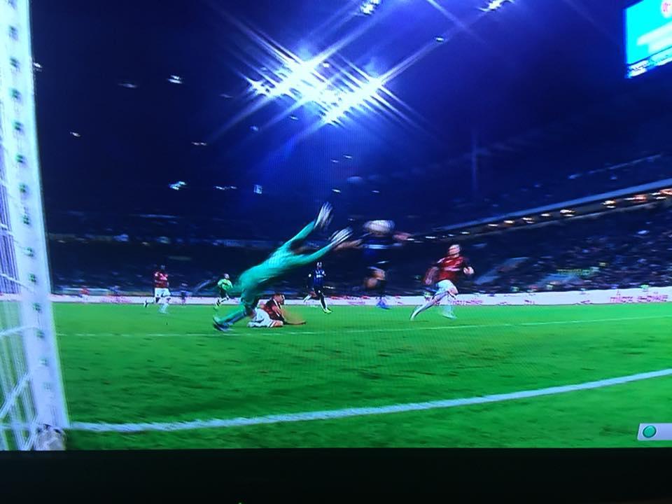 Il gol di Icardi nel derby