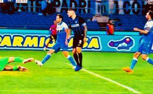 Foto di Icardi che segna alla Lazio