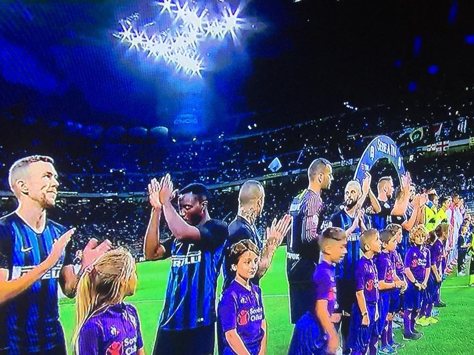 Squadra Inter schierata