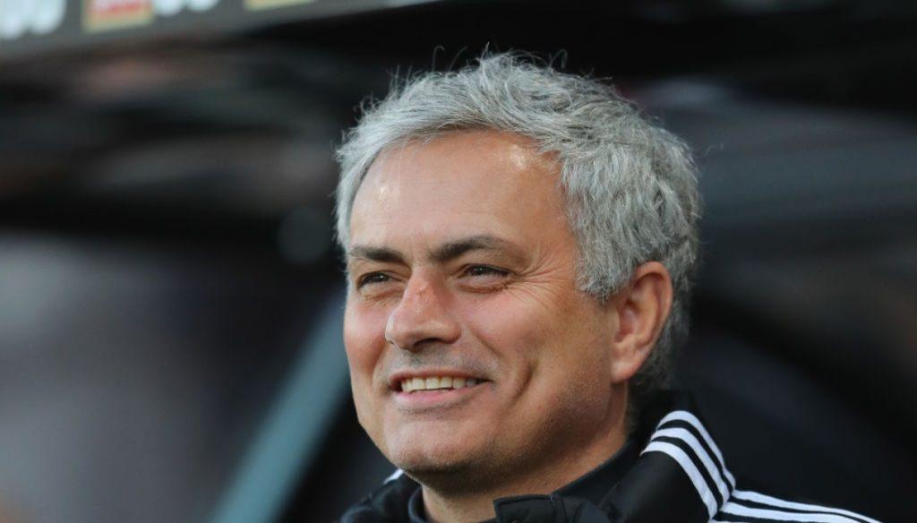 Mourinho che sorride