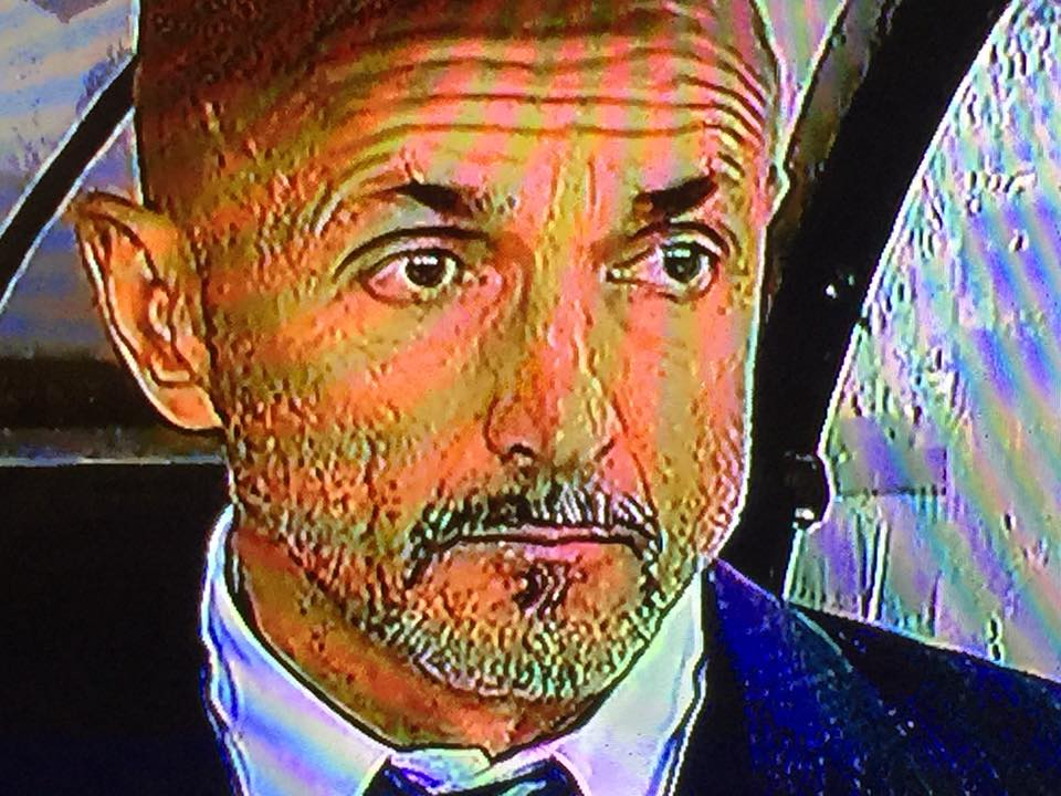 Spalletti in primo piano