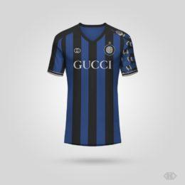 Inter, la maglia Gucci