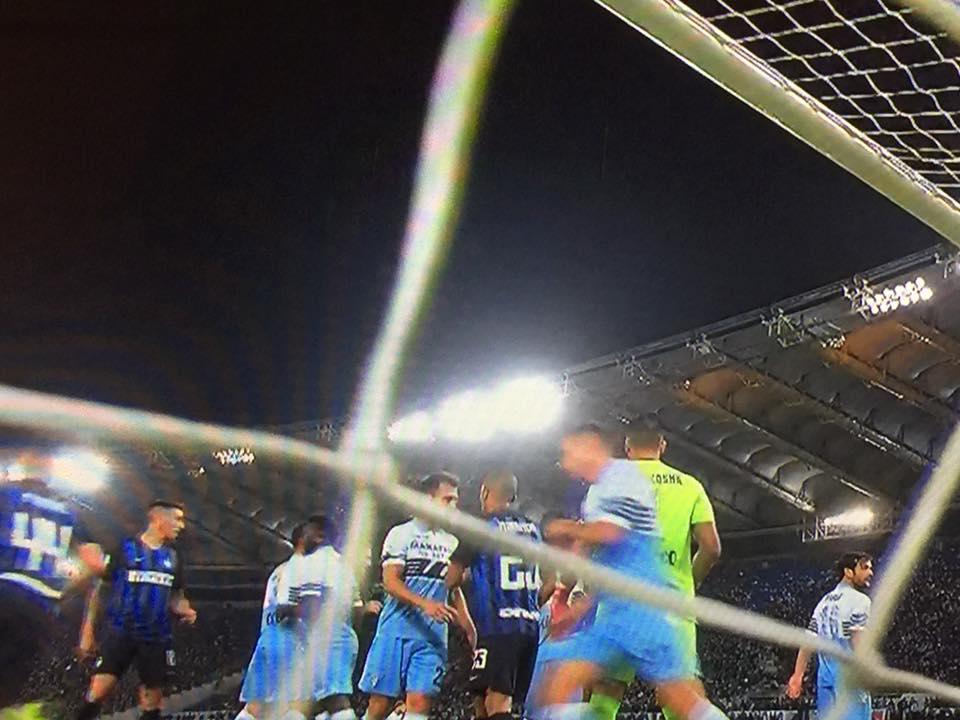 Lazio-Inter, immagini particolari