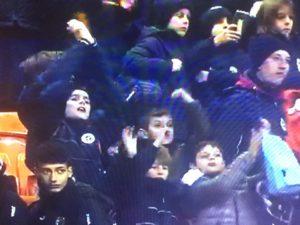 Bambini allo stadio