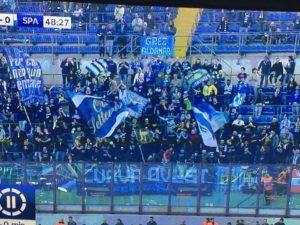 tifosi della spal a vedere l'Inter