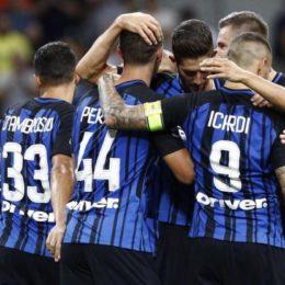 Le formazioni ufficiali di Inter-Juve