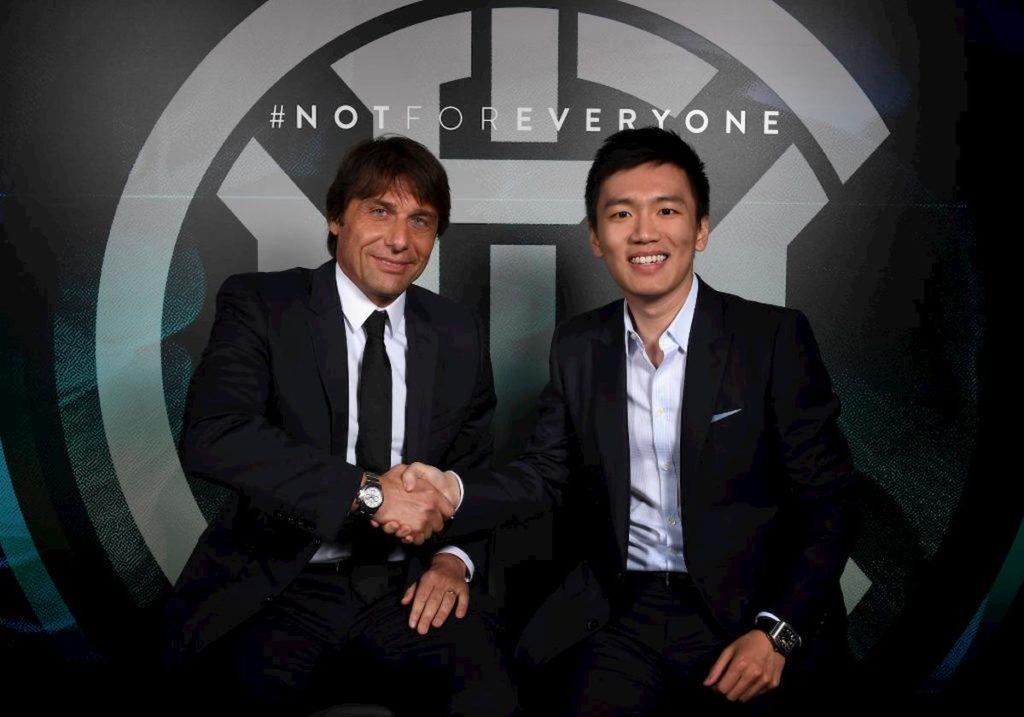 Conte e Steven Zhang