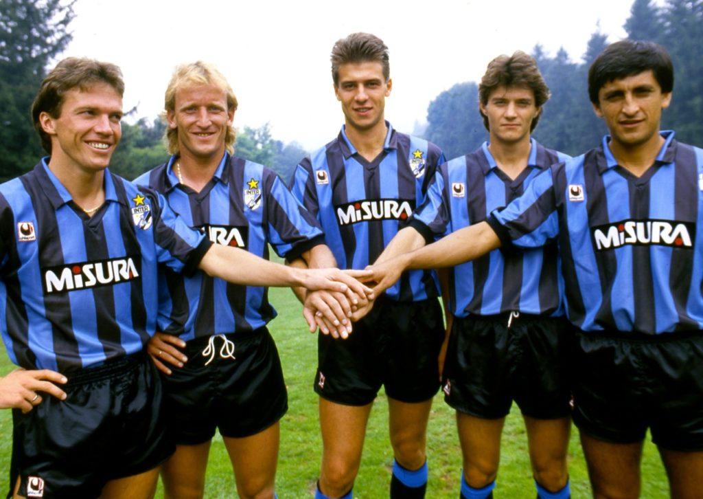 gli acquisti dell'inter stagione 88 89