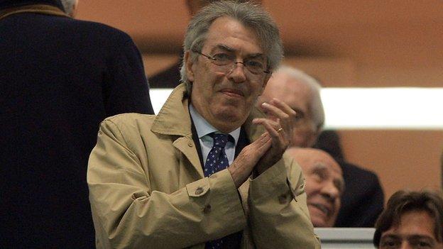 Moratti scrive all'inter