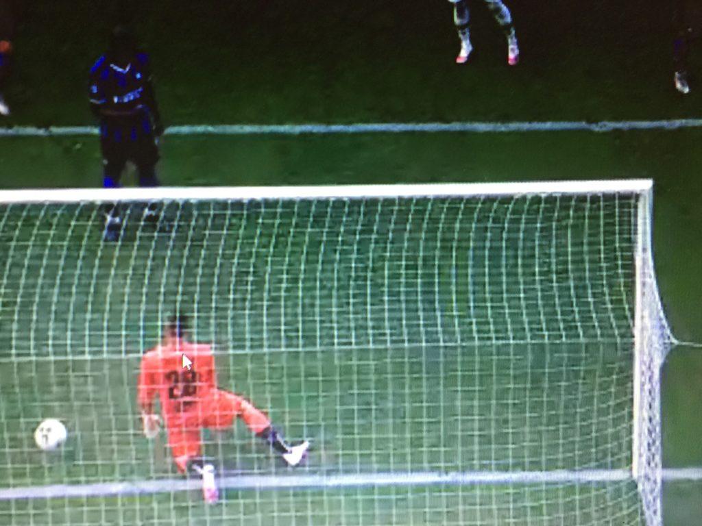 Lukaku in una delle ultime partite dell'inter