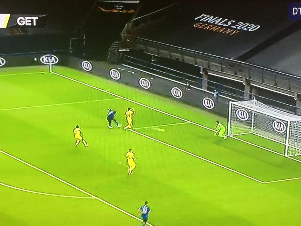 Il gol di Lukaku al Getafe