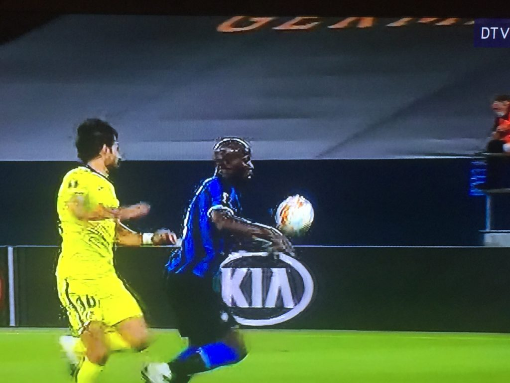 Lukaku in europa league