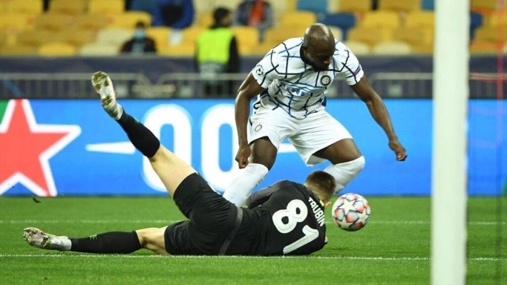 Lukaku in champions