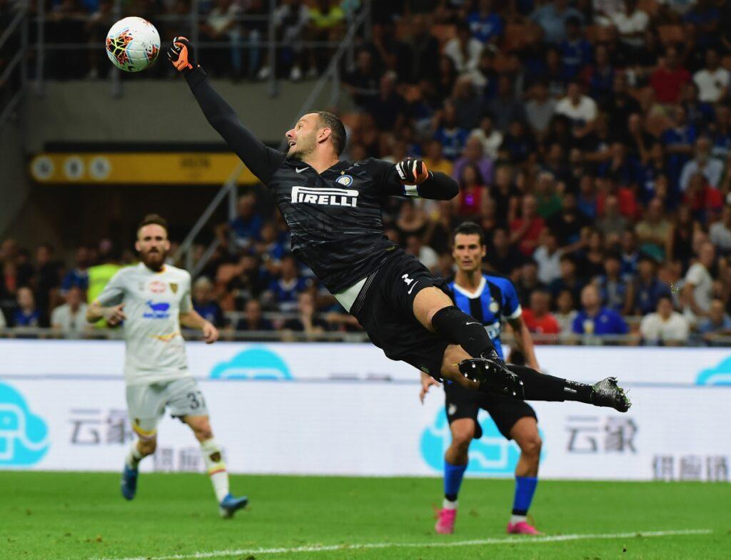 handanovic spettacolare nel derby di Milano